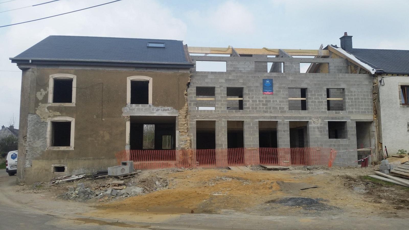 Maison poncin entreprise g n rale de construction for Entreprise construction maison